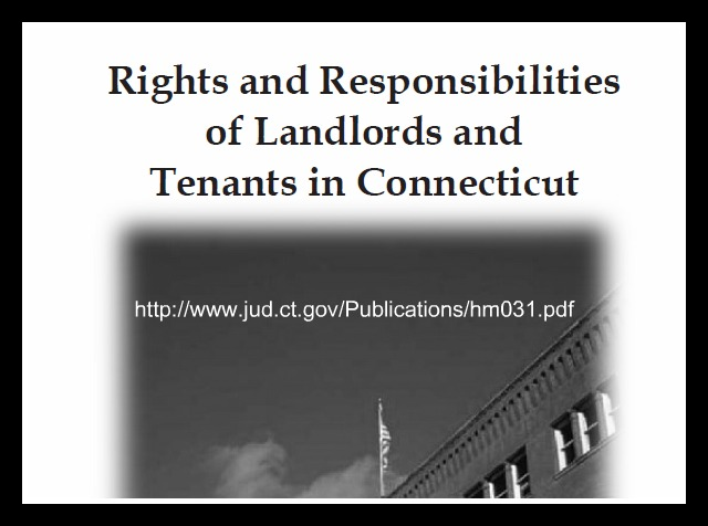 Landlord/Tenant Laws CT