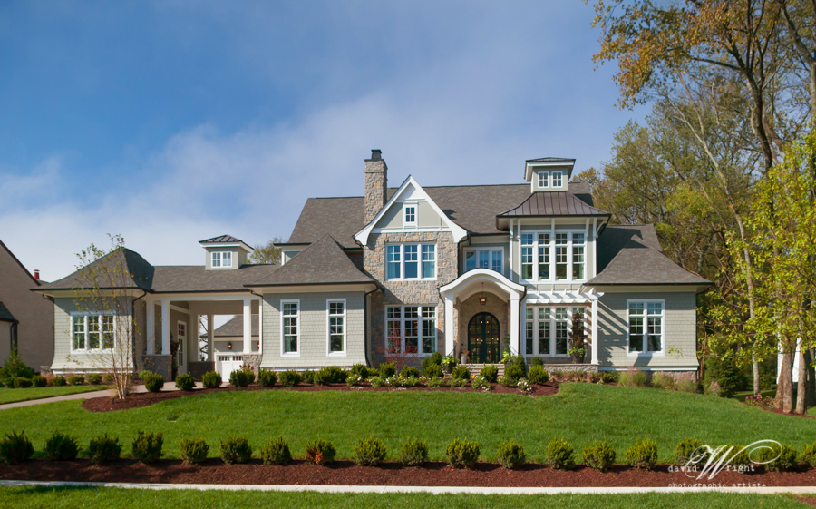 A stylized Cape Cod home in Witherspoon.