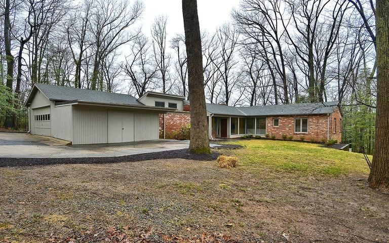 Mid Century Modern in Quaint Acres Silver Spring MD