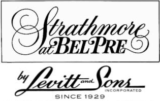 Strathmore at Bel Pre - Levitt and Sons Logo
