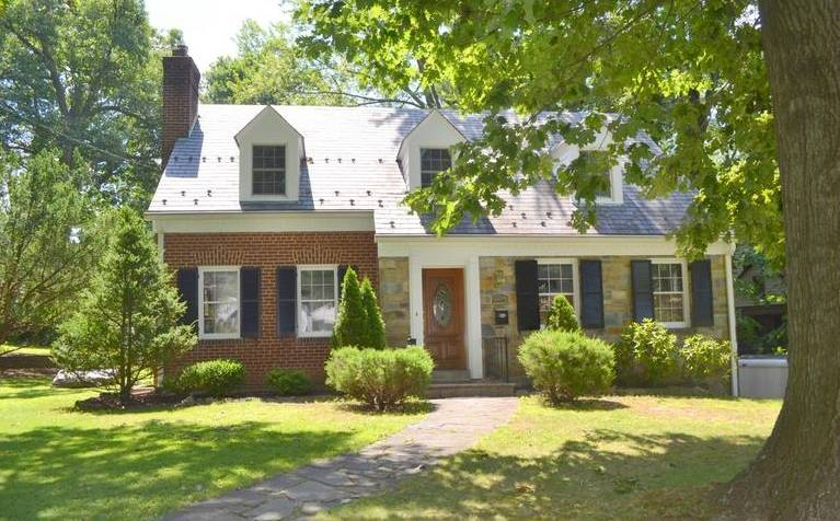 Brick and Stone Cape Cod in Forest Grove Silver Spring