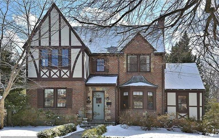 A Tudor in North Woodside Silver Spring