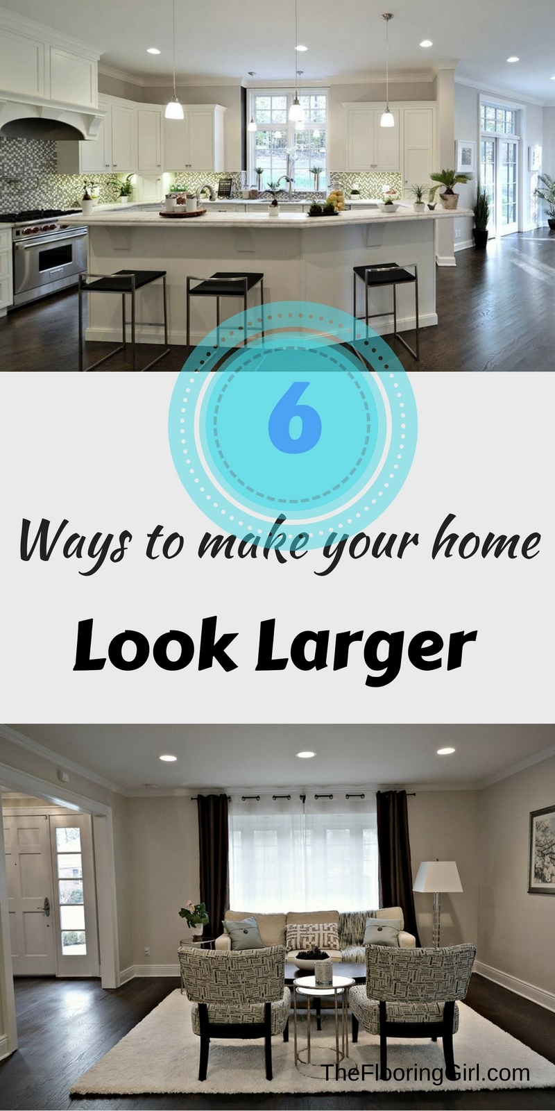 make home look larger