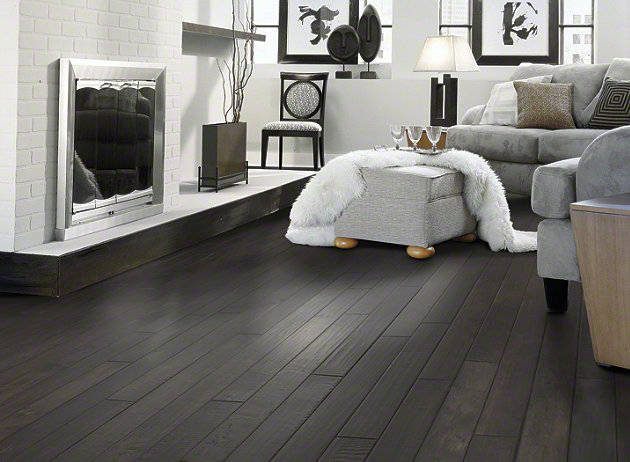 ebony wood floors | wb designs
