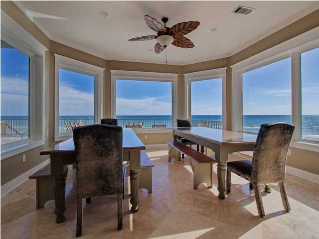 Reduced santa rosa beach fl waterfront home for sale 171 for Floor to ceiling windows for sale