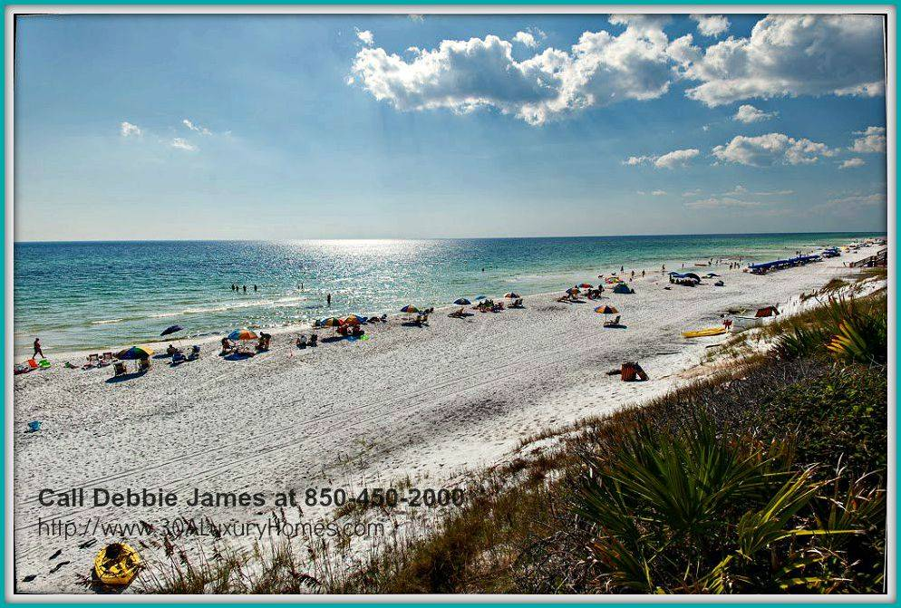 Swim, relax or read a book by the shore or just breathe in the fresh ocean air with the wonderful white sand beaches just walking distance from this one-of-a-kind Seagrove FL beach home for sale!