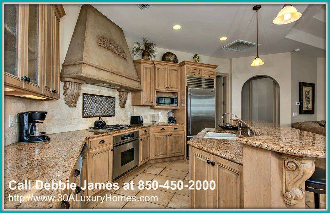 You will be inspired to make delectable meals for your family with the fully equipped kitchen of this 4 bedroom home for sale in Miramar Beach FL.