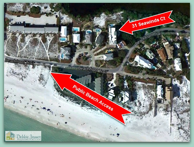 Words may not be enough to describe this remarkably unique gulfview Santa Rosa Beach FL home for sale!