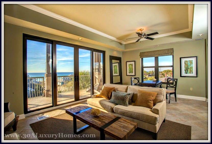 This Santa Rosa Beach FL condo for sale exudes comfort and style in each of the lovely rooms.