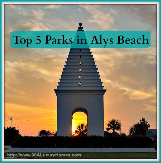 Bring your family and spend a fun day near your homes along 30A in the best parks of Alys Beach.