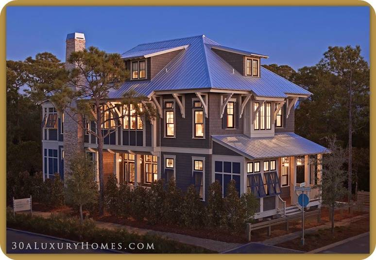Each Home Along 30A, In Watercolor, Has Unique And Beautiful Features That  Seamlessly Blend