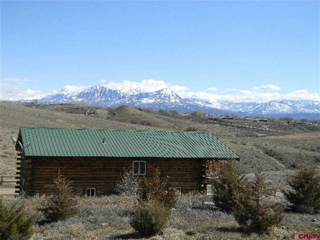Sold Mountain Log Home On Acreage Great View Delta Cou