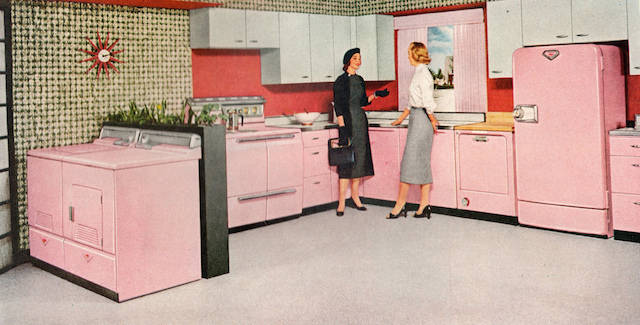 If Youu0027ve Got A Great Memory, Or Are A Bit Older, You May Remember  Turquoise Or Even Pink Appliance Color Choices.