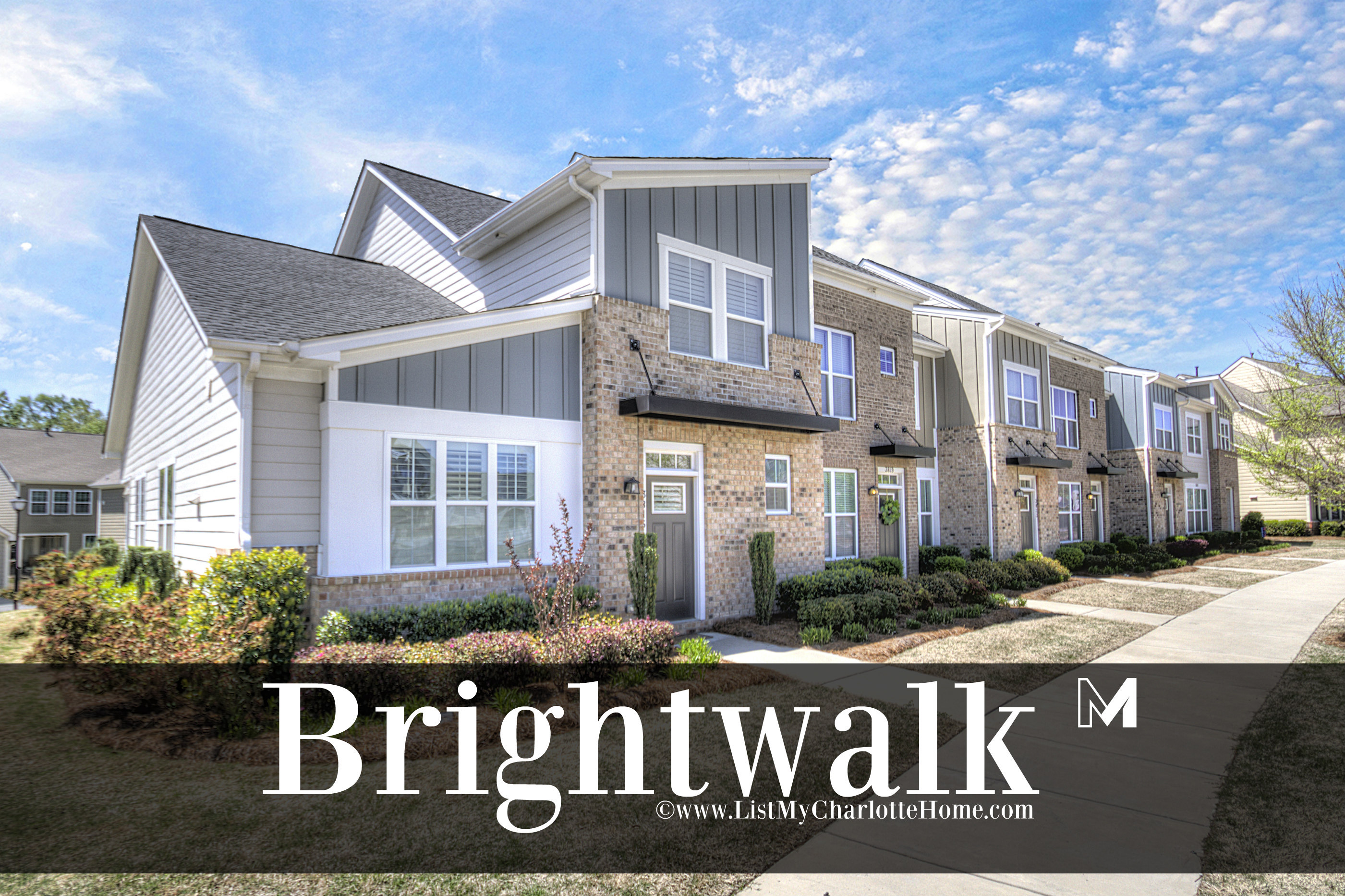 Brightwalk - THE place to live in Charlotte NC!