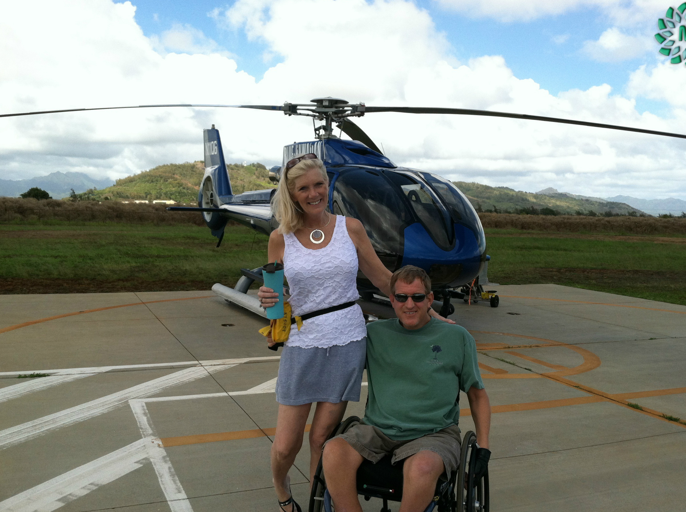 Touring Hawaii by helicopter