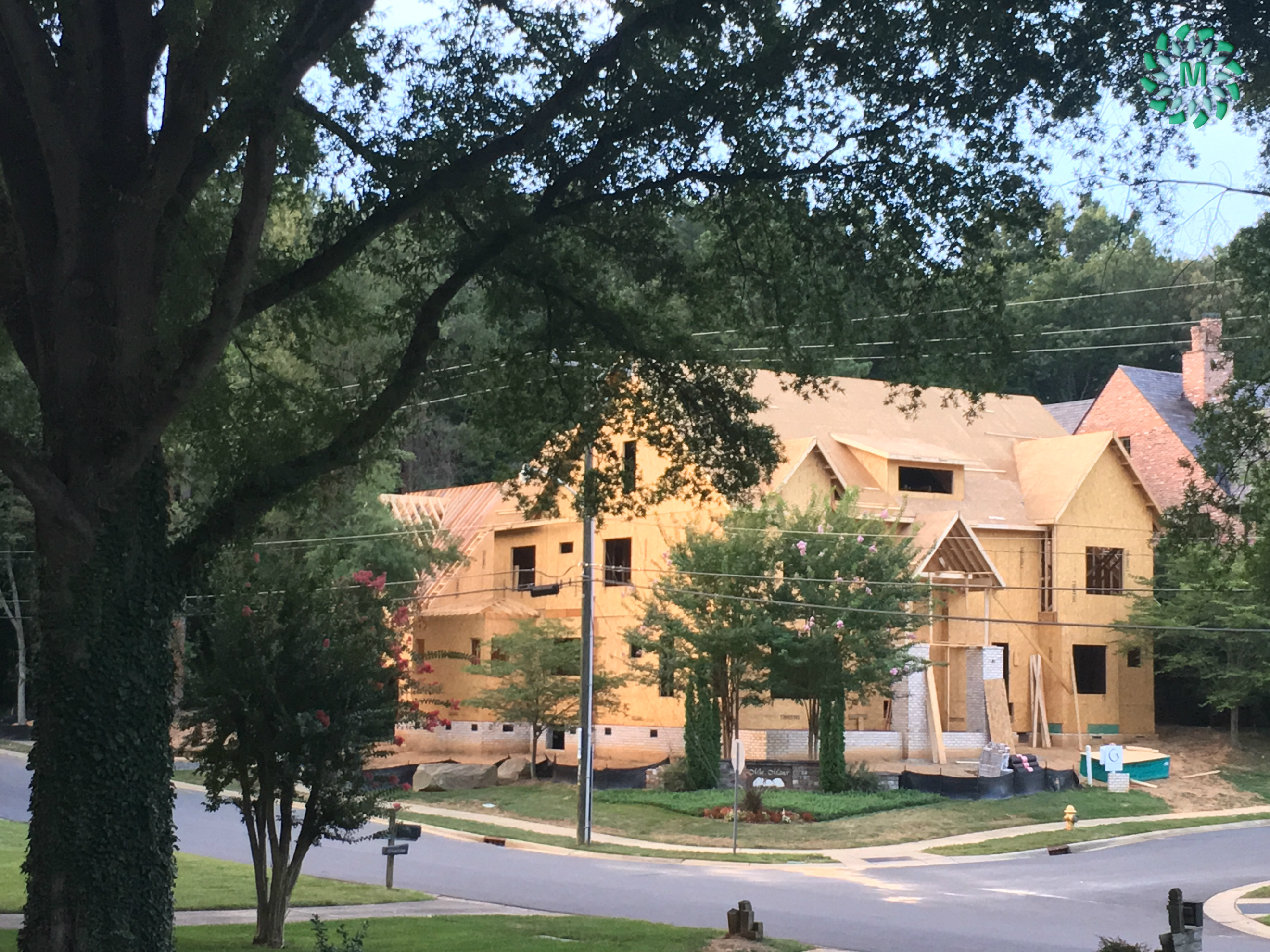 Keeping tabs on the neighbor's new construction in Charlotte NC