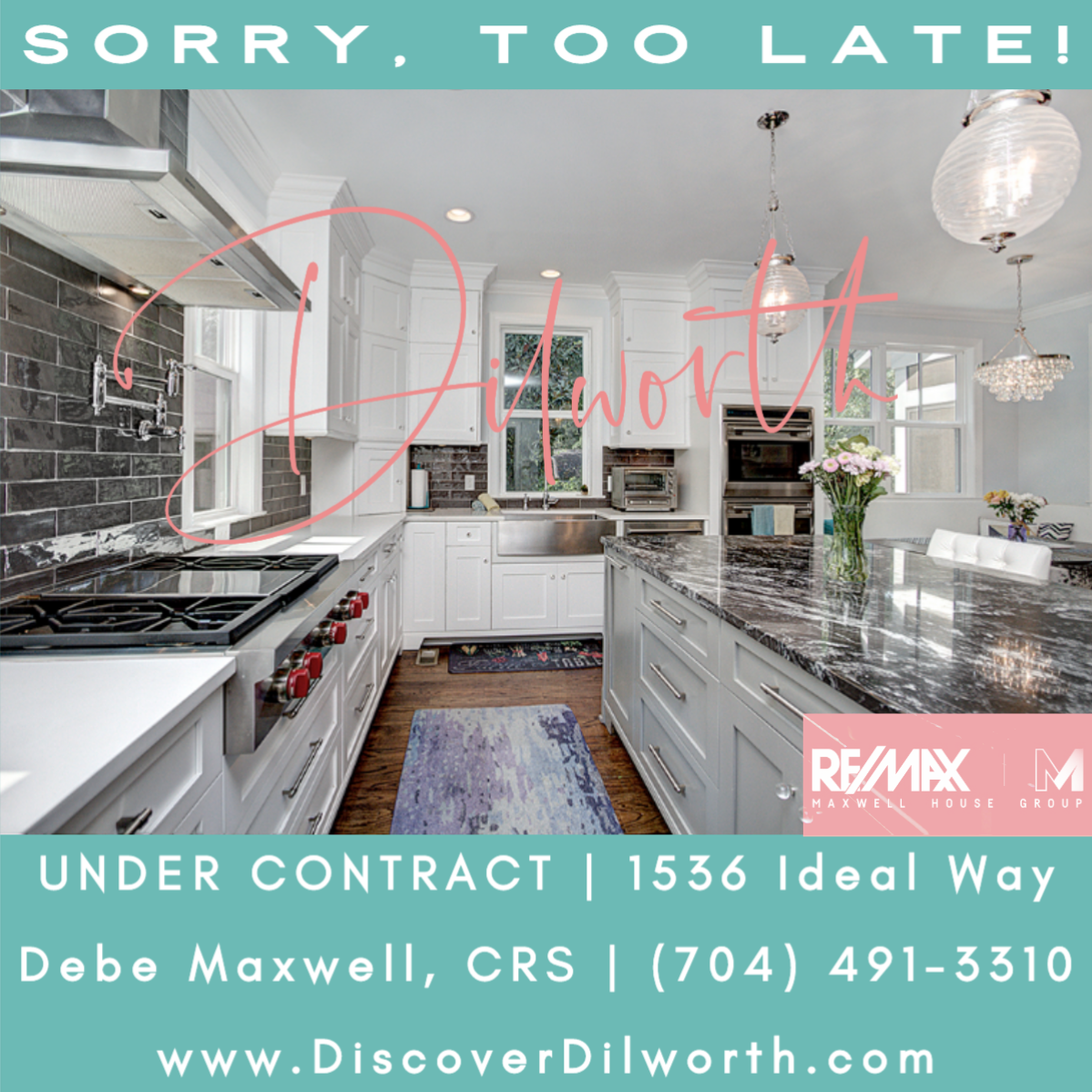 UNDER Contract in Dilworth