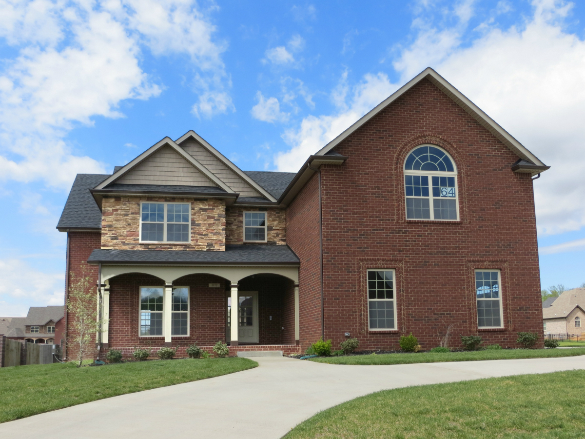 New homes for sale in clarksville tn 37043 february for Clarksville tn home builders