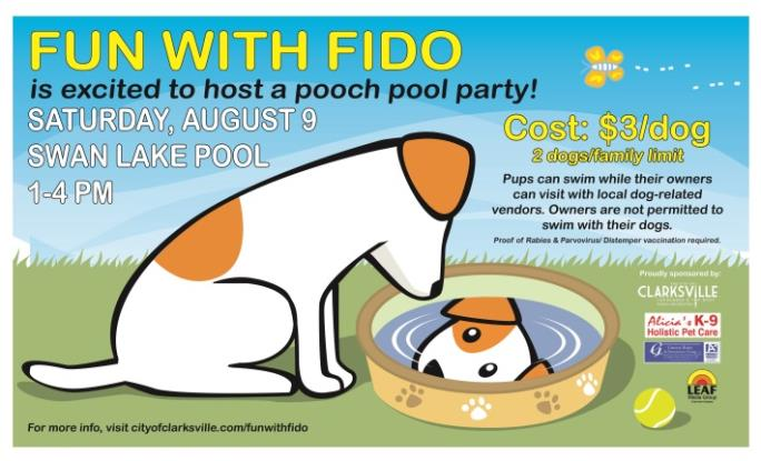 Fun With Fido Dog Swim In Clarksville Tn