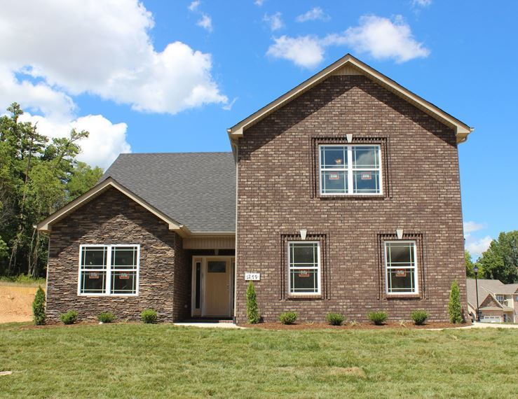 New homes for sale in rossview high school clarksville for Home builders clarksville tn