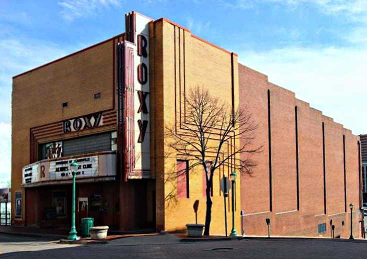 clarksvilles historic theater roxy regional theater