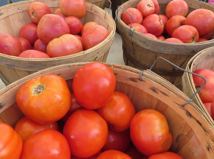 Tomatoes at Downtown Market