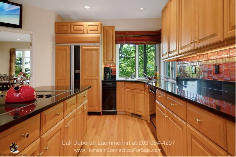 Homes for Sale in New Fairfield CT - Everything you need is in the gourmet kitchen of this home for sale in New Fairfield CT.