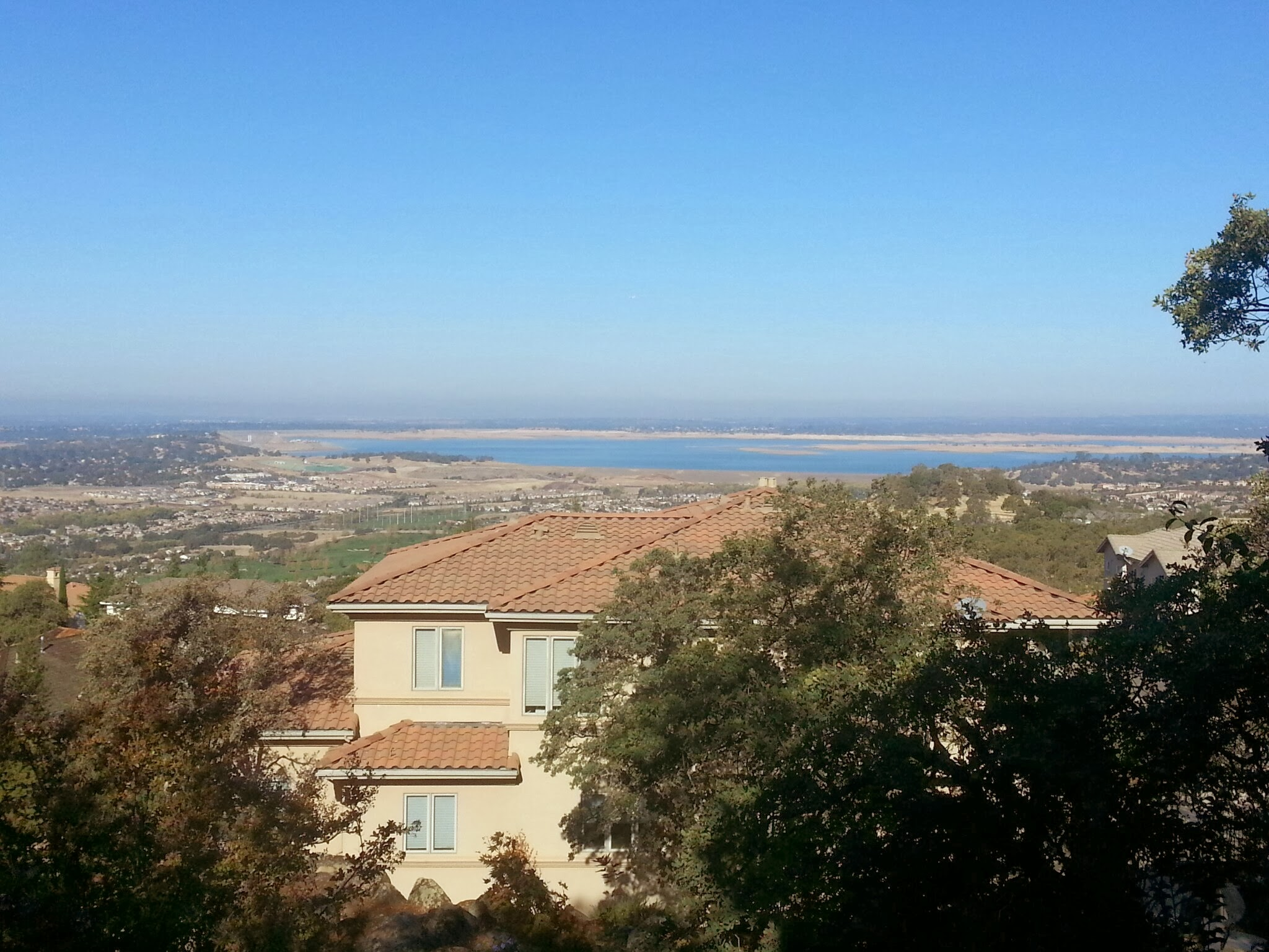 Views from Ridgview - Folsom Lake