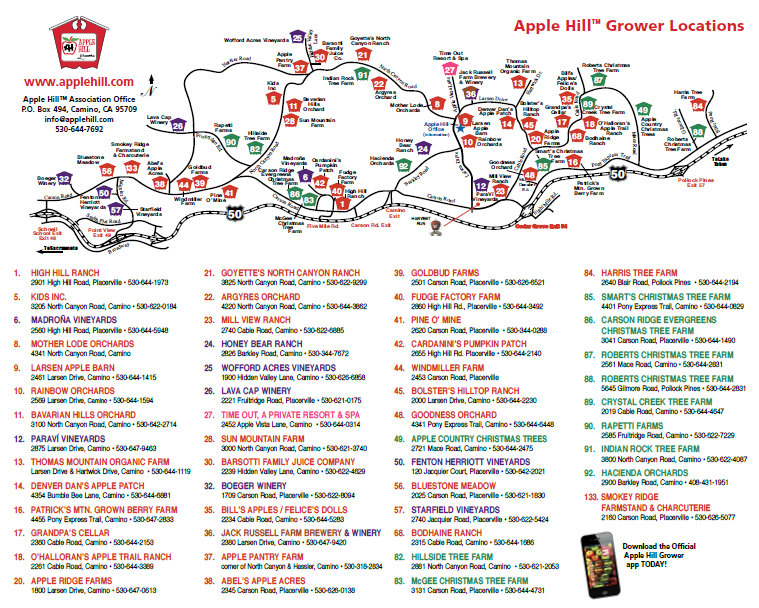 apple hill time