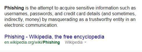 Phishing (Scam) Alert