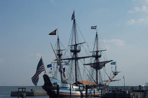ship on DE River