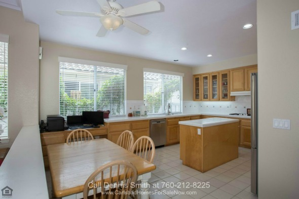 San Marcos CA Homes for Sale - This San Marcos CA home for sale has a large kitchen which will satisfy the avid chef in you.