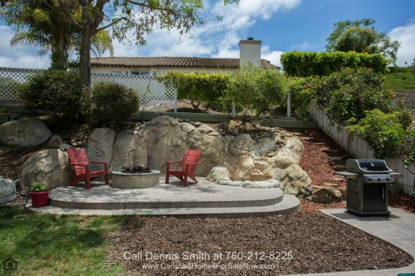 Homes in San Marcos CA - Complete privacy and relaxation can be yours in the cozy backyard of this home for sale in San Marcos.