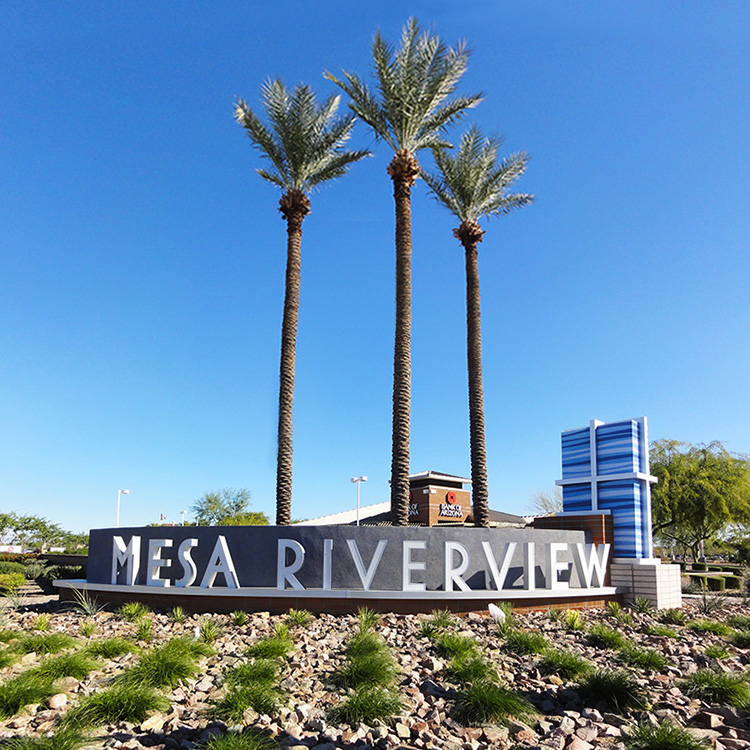 Mesa Riverview Park Chicago Cubs Spring Training Stadium