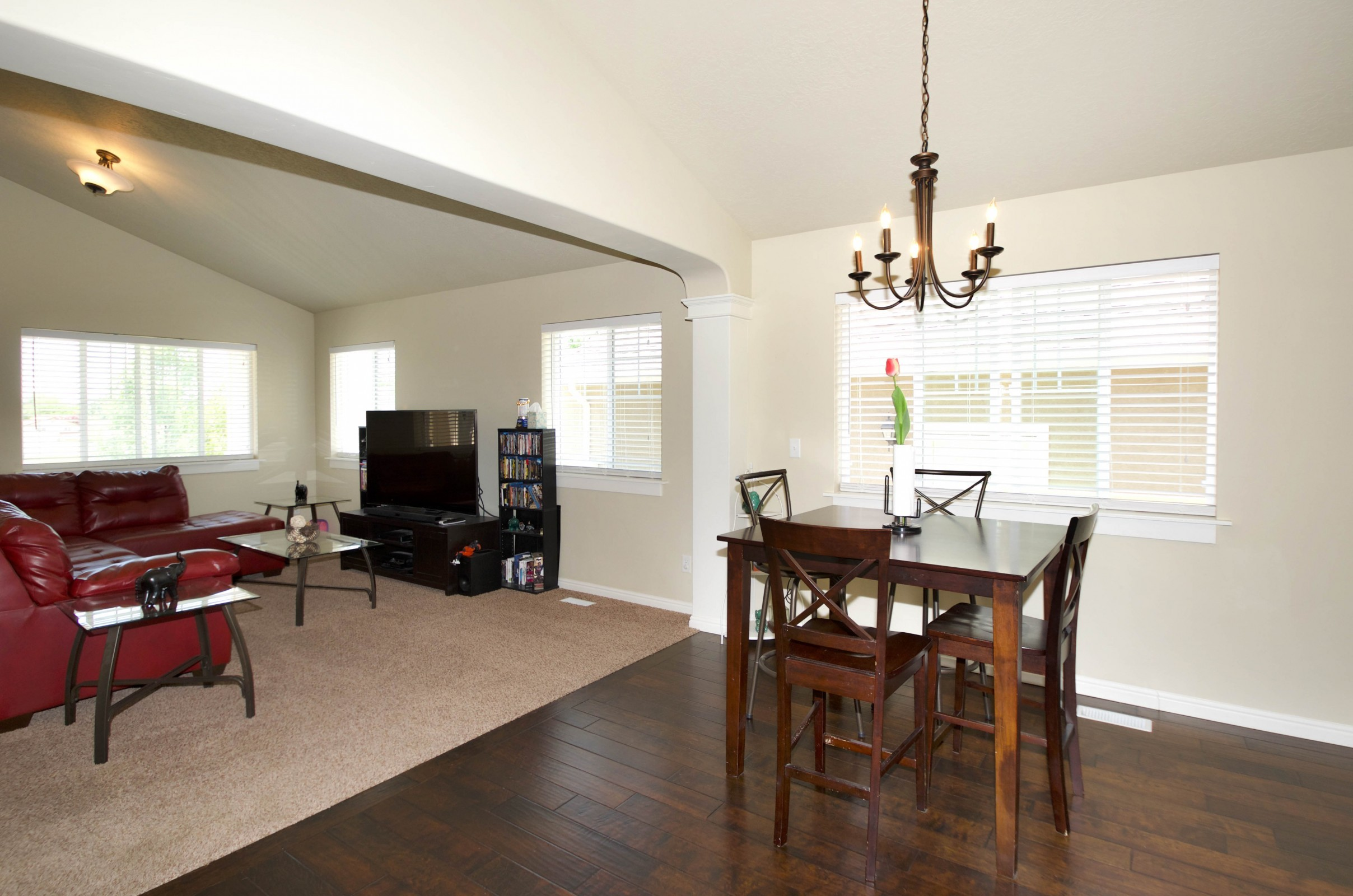 1116 W 275 N Clearfield Living and Dining view