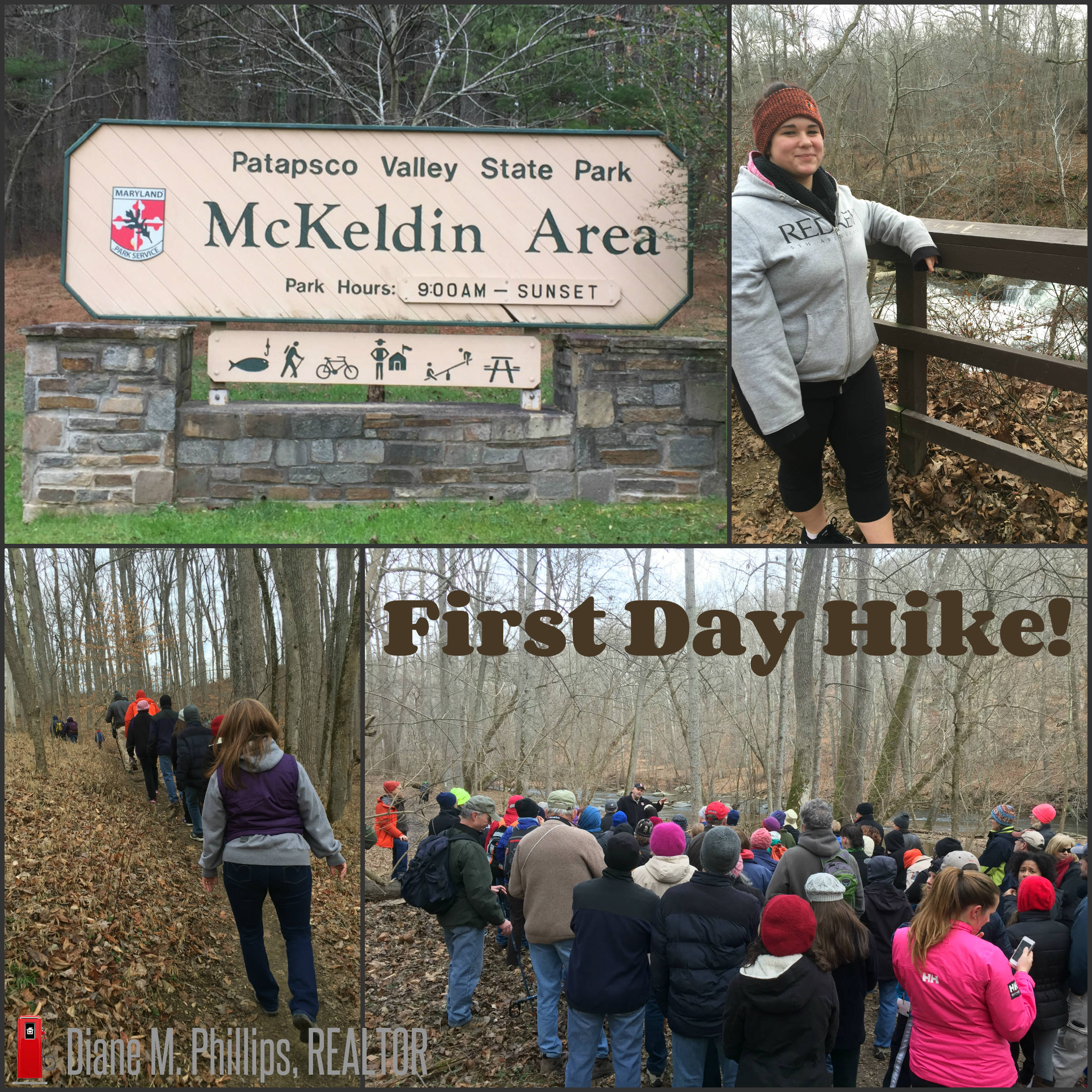 First Day Hike at the McKeldin Area