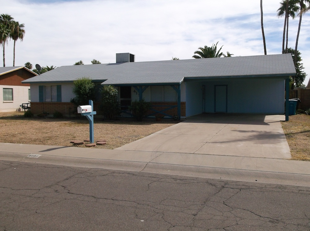 Phenix 1970s 3 bedroom home for sale with no HOA