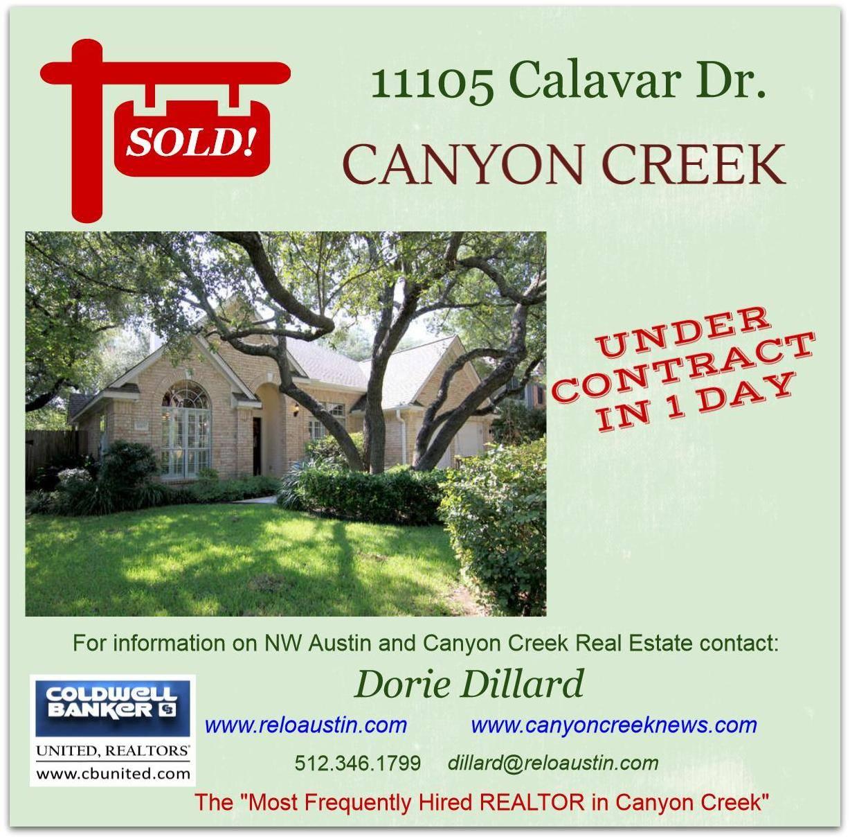 Dillards Furniture Austin: Sold In Canyon Creek In NW Austin