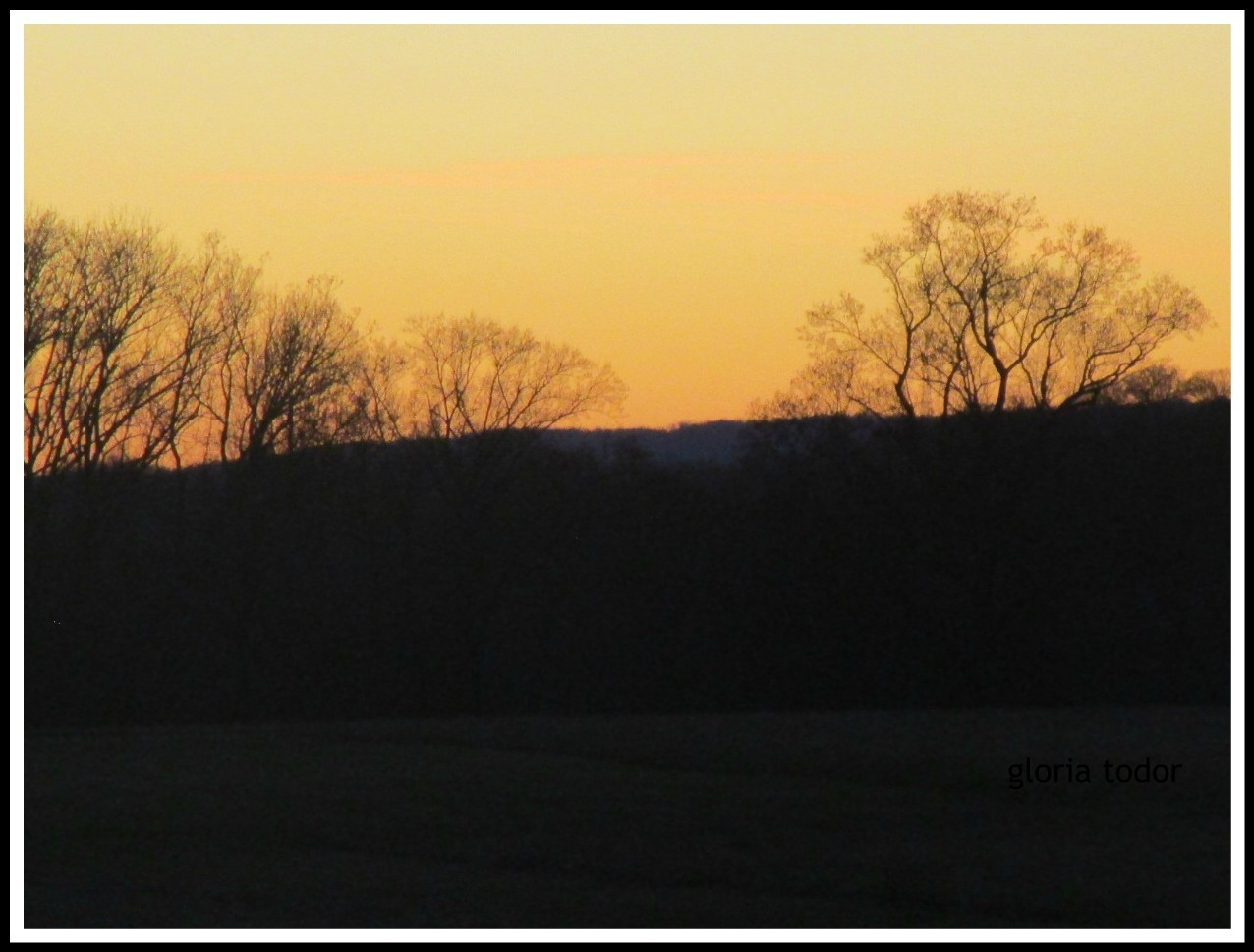 Valley Forge at Dusk