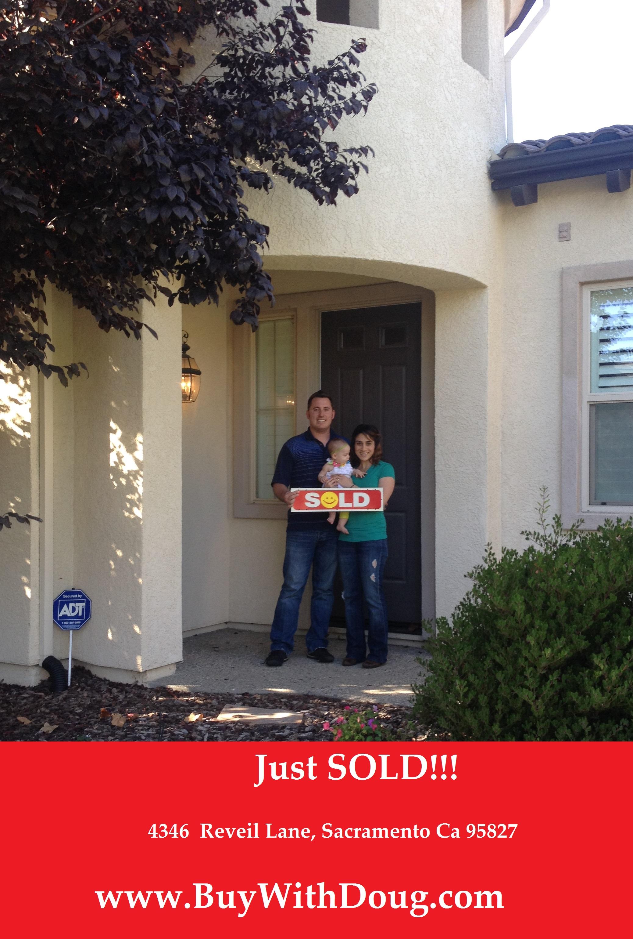 Just Sold - 4346 Reveil Lane, Sacramento Ca 95827 - www.BuyWithDoug.com - Doug Reynolds Real Estate in Sacramento