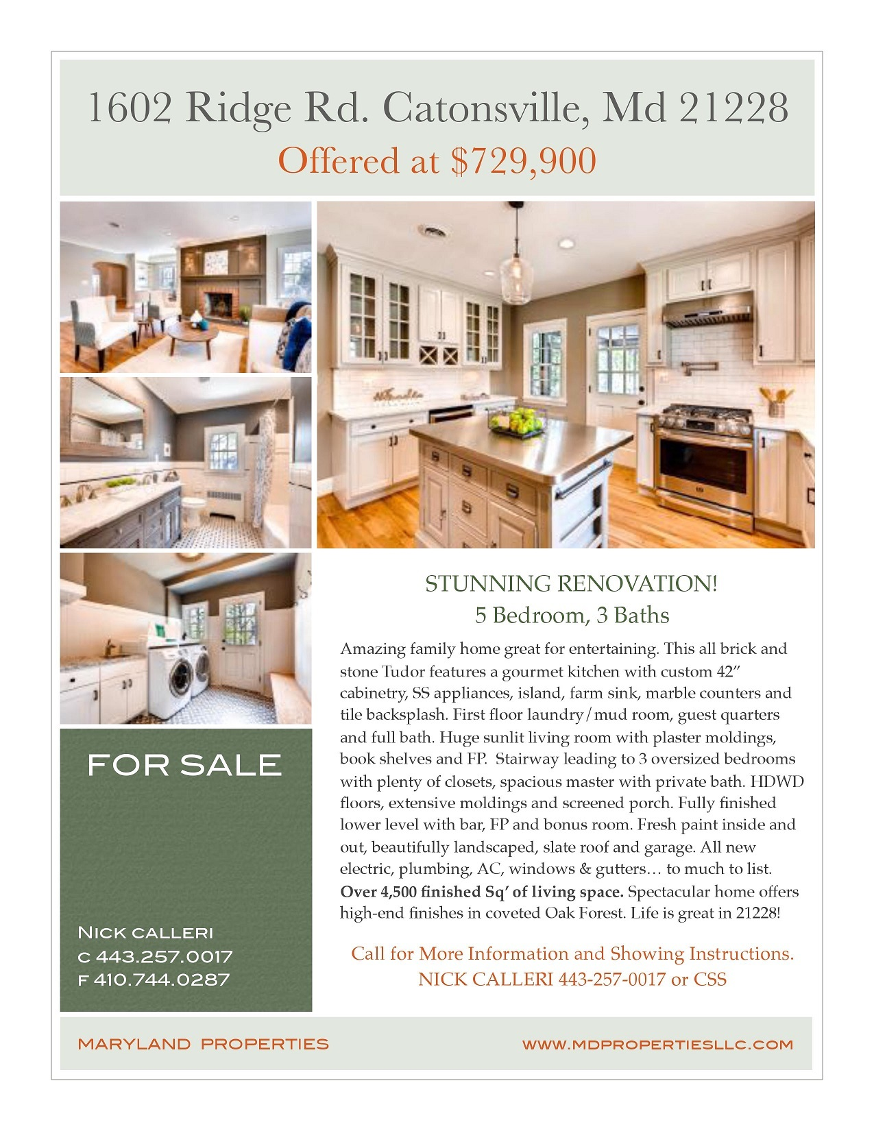 Tudor home for sale in Catonsville