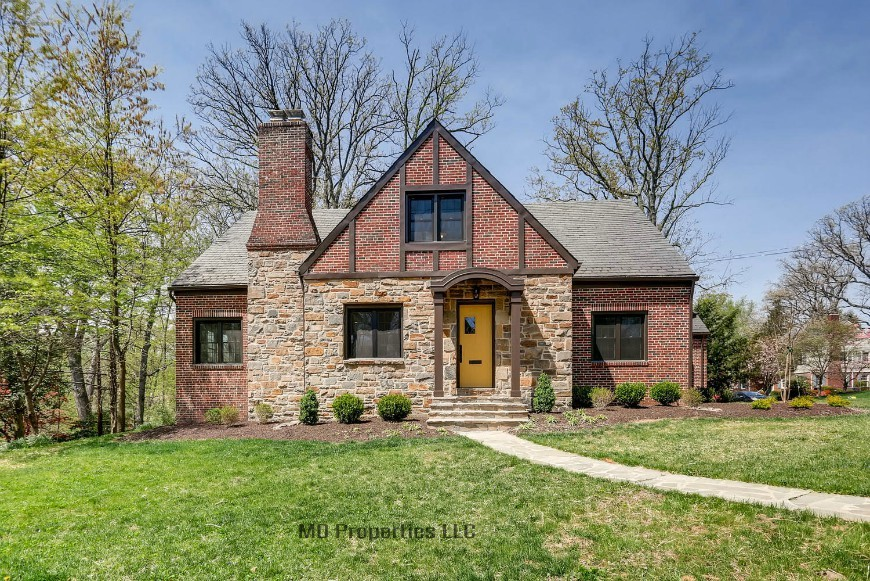 1602 Ridge Rd, Tudor home in Catonsville, MD