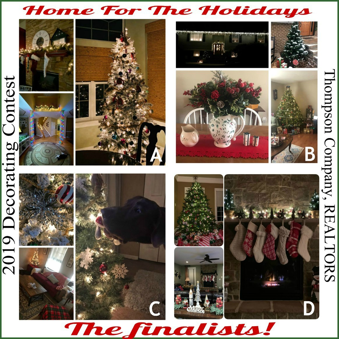 Thompson Company Holiday Decorating Contest: the finalists