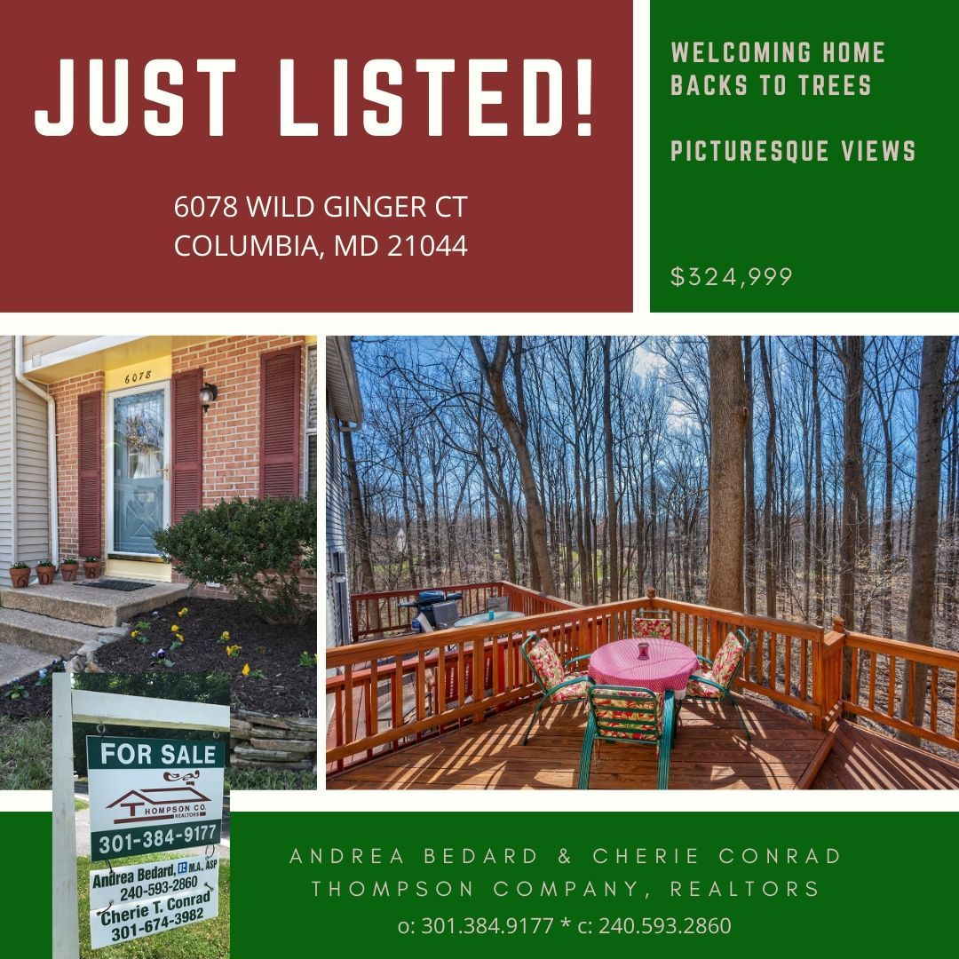 Home for sale in Hickory Ridge, Columbia, MD