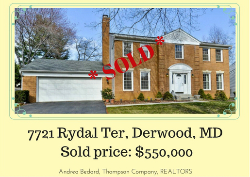 SOLD in Derwood, MD