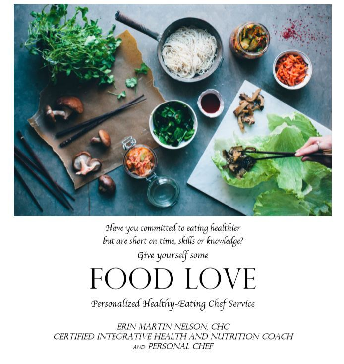Food Love, LLC personal chef service in Howard County, MD