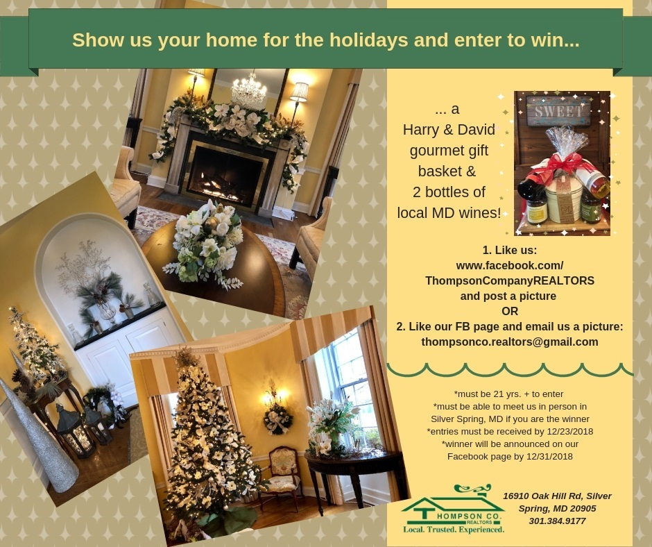 Thompson Company, Realtors Holiday decorating contest