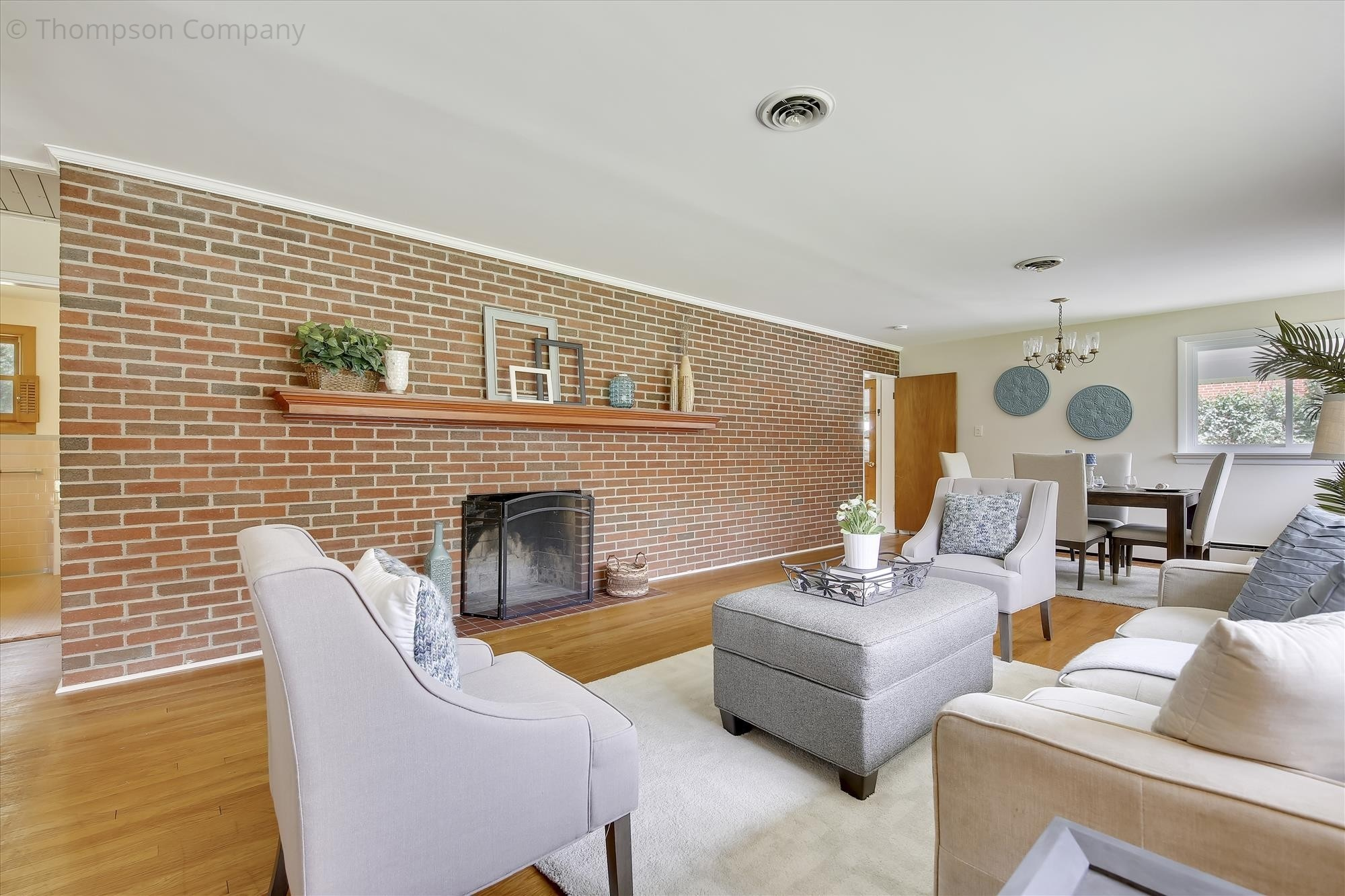 a staged home in Silver Spring, MD