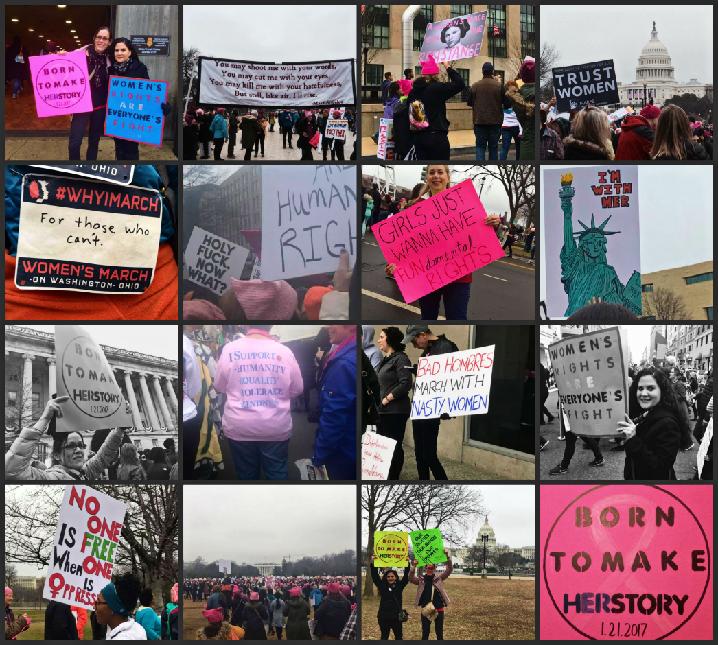 Women's March on DC 2017
