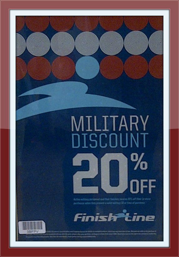 Military Discount Finish Line